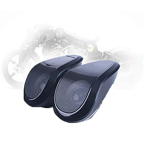 Audio Reproductor de Música, Impermeable Multifuncion Estéreo Audio Amp Sistema Mp3 USB Jugador FM Radio Altavoz Impermeable de Bluetooth para Moto con Incorporado de Amplificador Clase D,A