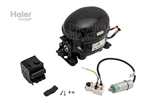 Original Haier-Ersatzteil: Kompressor für Kühlschrank, Gefriertruhe Herstellernummer SPHA01117658 | Kompatibel mit den folgenden Modellen: BD-203GAA KX;HCE203R;BD-143GAA KX;CECC146AP
