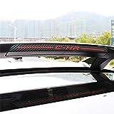 Adhesivo de fibra de carbono para luz de freno C-HR CHR, forma de coche, luz trasera de freno adicional, accesorios (C-HR)