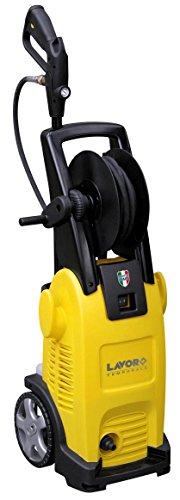 Hochdruckreiniger TEMPORALE | Kaltwasser-Hochdruckreiniger 130 bar Arbeitsdruck | inkl. verschiedener Zubehöraufsätze | Lieferleistung 420 l/h | mit Rollen