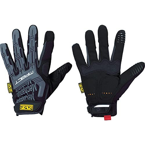 Mechanix Wear: M-Pact Tactical Work Gloves (X-Large, Black) (MPT-58-011)