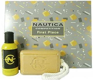Nautica Competition By Nautica For Men. Gift Set ( Eau De Toilette Spray 2.5 Oz + Soap 10.1 Oz).