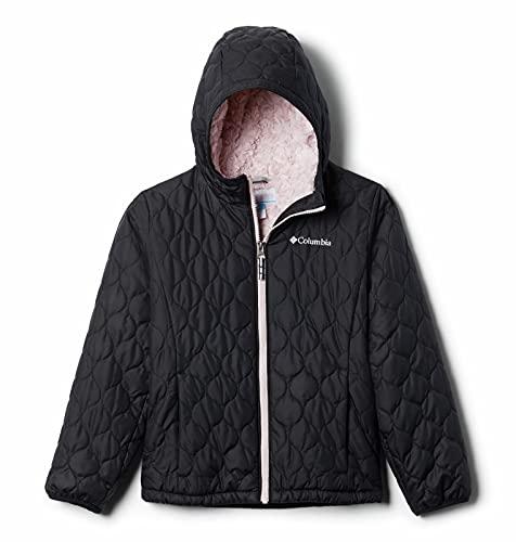 Columbia Girls' Big Bella Plush Jacket, Black, Medium