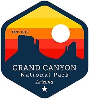 Fagraphix Grand Canyon National Park Arizona Aufkleber selbstklebend Vinyl Decal Colorado River Grand Canyon