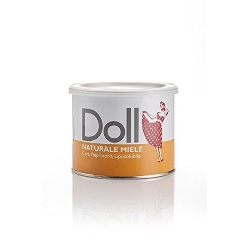 Pot de cire à épiler miel Doll 400ml