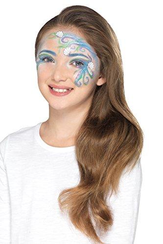 Generique - Meerjungfrau Schminkset für Mädchen blau