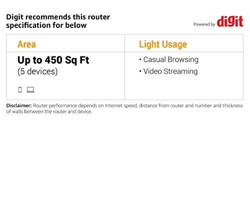 TP-Link Archer C20 Dual Band WLAN Router (300Mbit/s auf 2,4GHz + 433Mbit/s auf 5GHz, 4 10/100 LAN + 1 10/100 WAN Ports, unterstützt einfachen Gast-Netzwerk Zugriff und Kinderschutz) blau weiß