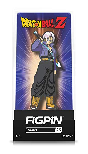 FiGPiN Dragon Ball Z: Trunks - Collectible Pin with Premium Display Case - Not Machine Specific