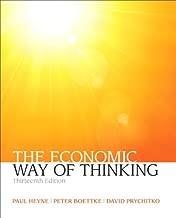 Economic Way of Thinking, The (Pearson Series in Economics)