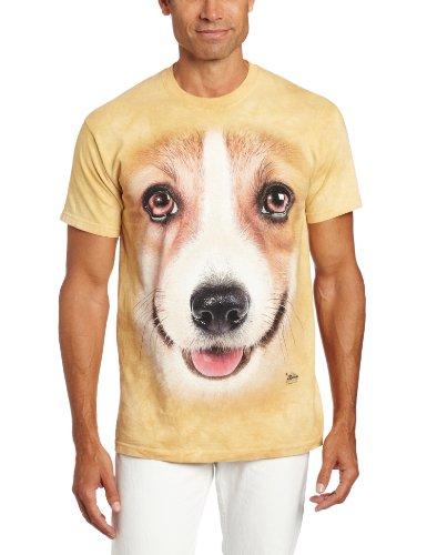 The Mountain Youth Corgi Face T-Shirt
