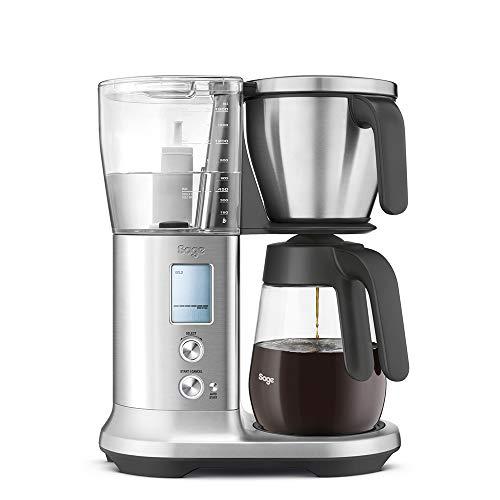 Sage Appliances SDC400 precyzyjny ekspres do kawy The Precision Brewer Glass, wygląd szczotkowanej stali nierdzewnej, dzbanek szklany
