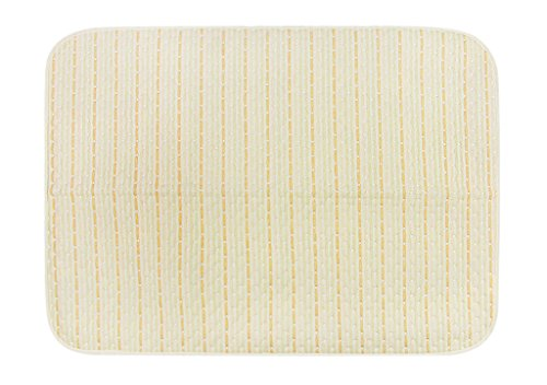 Colchoneta impermeable reutilizable para incontinencia, lavable, ultra absorbente, cambiador de colchón, para bebés, niños y adultos Rayas de colores Talla:50 * 70 cm