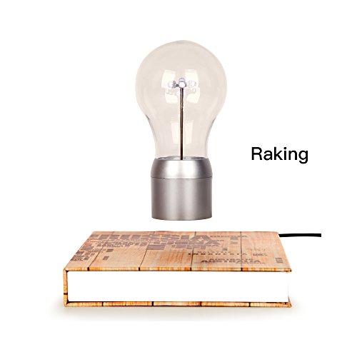 Levitación. Mágico de alta gama LED bombilla/lámpara de mesa/luz nocturna/decoración de escritorio con Levitación Magnética Flotante tecnología, para decorar oficina, salón, estudio
