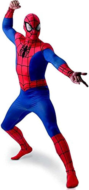Rubie's 3810362 - Spiderman Deluxe Adult, XL, blau rot B01316ZC0C Guter weltweiter Ruf       Sonderangebot