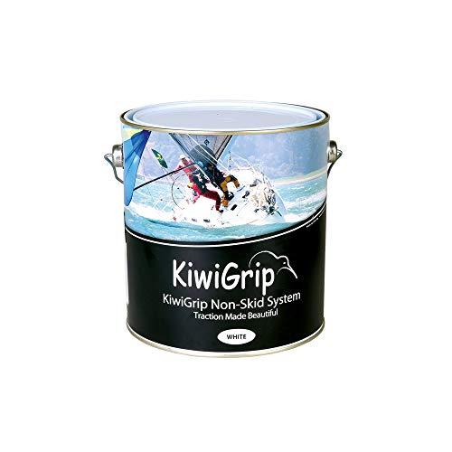 BTK KiwiGrip Antirutsch-Lack Weiß 1 Liter für Brücke Pflegeanleitung Barca Base Wasser Nautica mit Rolle