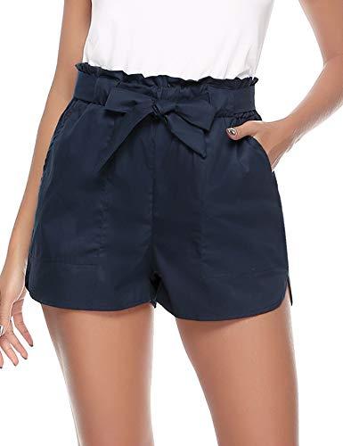 Aibrou pantalones shorts cortos para mujer