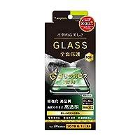 TR-IP19M-GM3-GOCCBK(ブラック) iPhone 11用 ゴリラガラス 立体成型シー