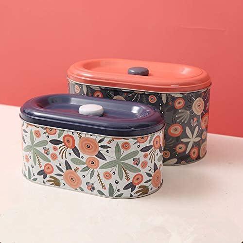sale Tin Cookie Snack Jars Biscuit Storage Jar Ho Discount mail order Canister