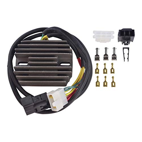 RMSTATOR Replacement for Voltage Regulator Rectifier Honda CBR 600 F4i 2001-2006 | OEM Repl.# 31600-MBW-D21 31600-MBW-G90 31600-MBW-A10