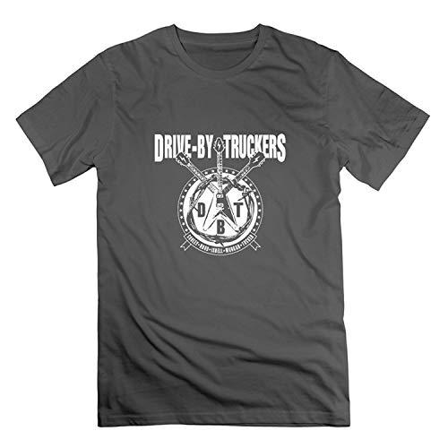 Camisetas para Hombre Drive by Truckers Camisetas de Algod¨®n Estampadas como Imagen XL