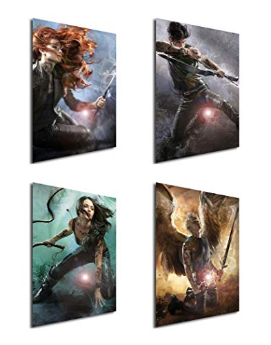 Instabuy Set von 4 Mini-Poster Shadowhunters 02