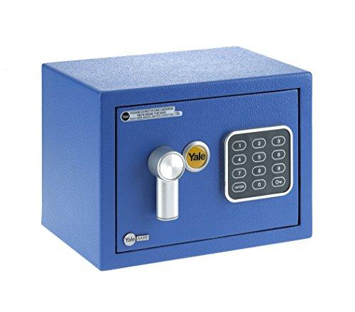 Caja de seguridad para muebles, azul, XS