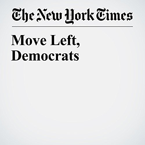 Move Left, Democrats copertina