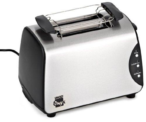 Unold ONYX Toaster 8066 edelstahl/schwarz