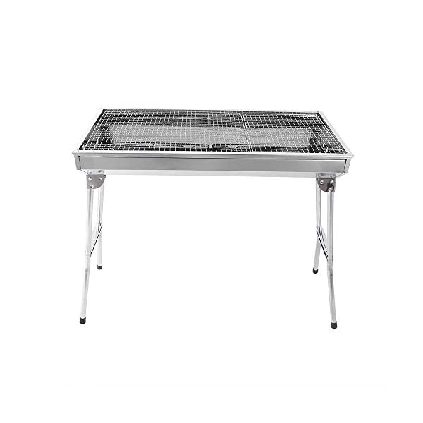 Uten Barbecue Grill Portable BBQ Charcoal Grill Smoker Grill for Outdoor Cooking Camping Hiking Picnics Backpacking 7