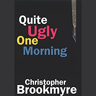 Quite Ugly One Morning audiobook cover art