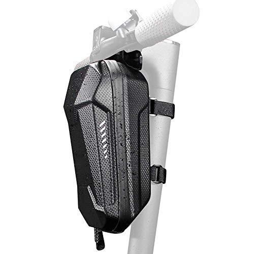 Linghuang EVA Rigid Electric Scooter Front Hanging Bag para Xiaomi MI Mijia M365 Sedway Ninebot ES ES1 / ES2 / ES3 / ES4 Bolsa de Almacenamiento Impermeable para Scooter Eléctrico (XL)