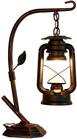 RARLONLY Rustic Lodge Novelty Desk Lamp Table Lamps for Living Room Ambient Light Country Table product image
