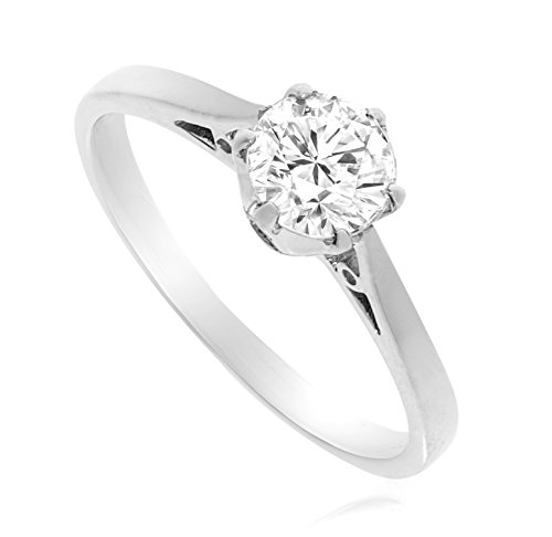 G&S Diamonds - 375 9 Karat (375) Weißgold Weiß/Wesselton (H) Diamant