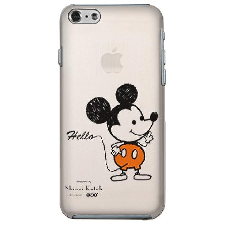 小石聴く前兆【Disney/ディズニー】 iPhone6 【ミッキー (透明)】 クリア/ケース/カバー/スマホケース