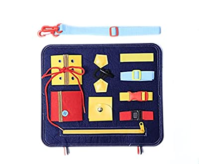 Busy Board Sensory Toy, Sensory Board for Fine Motor Skill, Occupational Therapy Toys for Dementia Activities for Seniors. from MUYU
