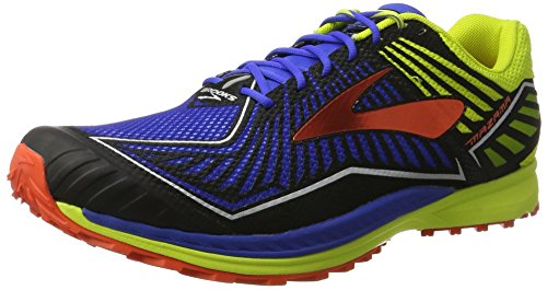 Brooks Mazama, Zapatos para Correr para Hombre, Multicolor (Electric Blue/limepunch/c), 46.5 EU