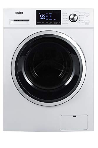 Summit SPWD2202W 24 Inch Wide 2.7 Cu. Ft. Front Loading Washer/Dryer Combo All In One Washer Dryer Combo