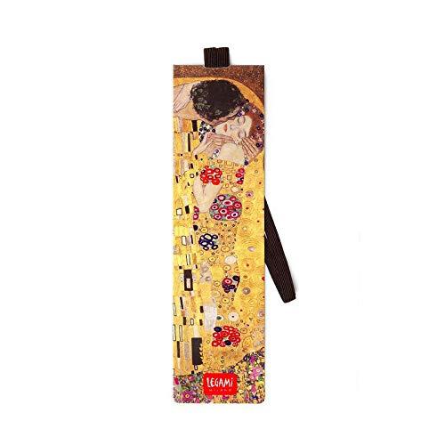 Legami Milano SE0241 - Segnalibro con Elastico - Klimt