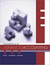 Fundamentals of Advanced Accounting: 1st (First) Edition