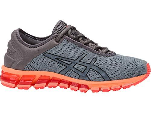 ASICS Women's Gel-Quantum 180 3 Running Shoes, 7.5M, Stone Grey/Carbon