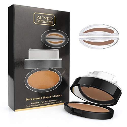 Abcidubxc Professional Makeup Pommade Waterproof pour Sourcils,Poudre À Sourcils,Durable Et Portable