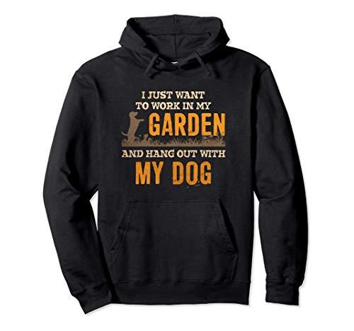 Regalo de jardinero divertido y lindo para amantes de los Sudadera con Capucha