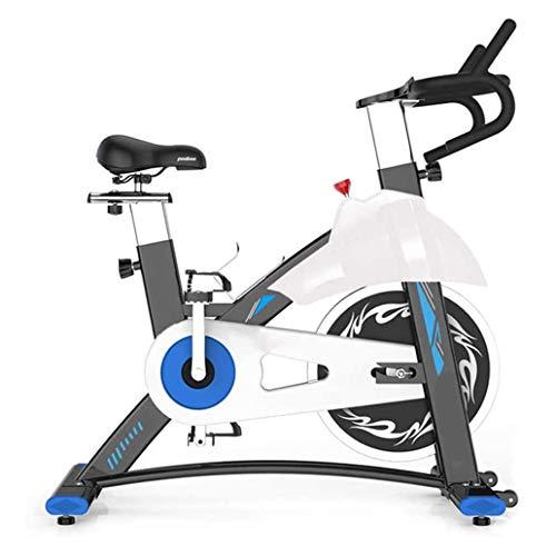 WJFXJQ Bicicleta de Spinning, Bicicletas de Interior, hogar for Bajar de Peso Equipos, Ultra silencioso Sports Bike, la Bicicleta estática controlada magnéticamente