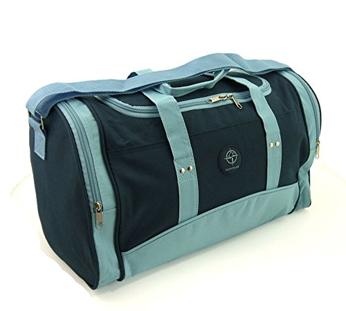 Wizzair cabin bag hand luggage fits in 42x32x25cm Massive 30 litre capacity (Navy & Blue)