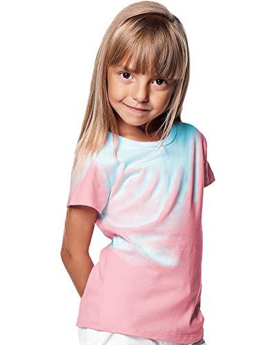 Shadow Shifter Kids Hitze reagierende Farbe ändern T-Shirt SMARTWEAR (Youth Large, Bright Pink)