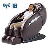 SL-Track Massage Chair, Zero Gravity 3D Robert Hand Massage Chairs, Full Body Airbag 6 Auto Program Massaging Chair Recliner, Stretching Function, Bluetooth Speaker& Foot Roller
