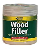 Multi purpose premium joiners grade wood filler - Filling small imperfections in wood - 250ml - Light...