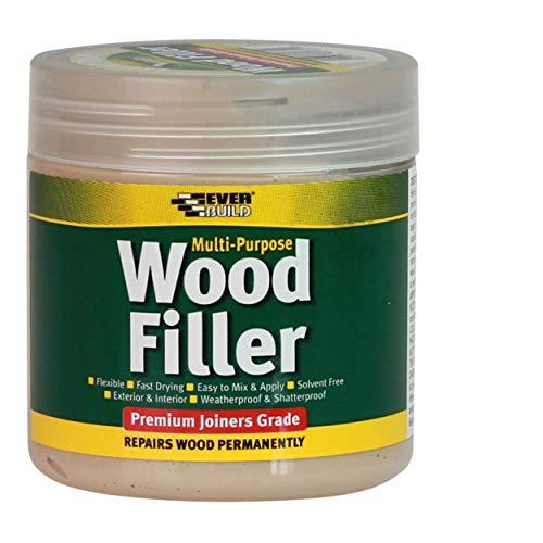 Everbuild evbmpwfl100100ml Mehrzweck-Premium Grade Holz Filler–Licht stainable P, EVBMPWFLS250