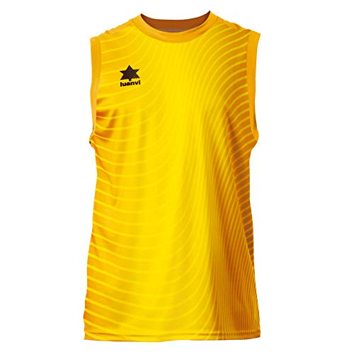 Luanvi Rio Tank Top Basketball, Damen XXXL gelb