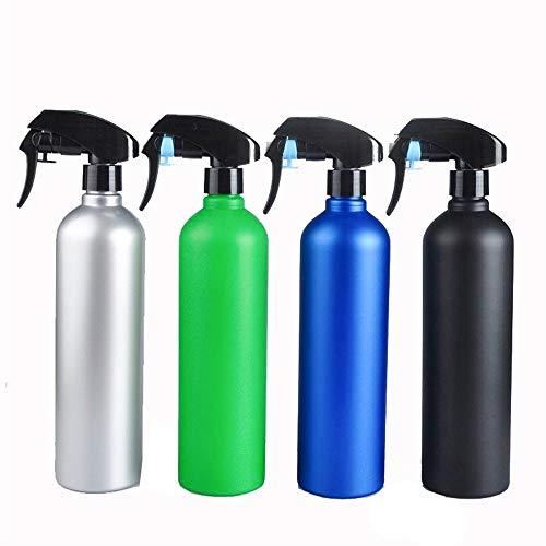 AWYJ Flacon Vaporisateur 4 pièces Atomiseur - Vide rechargées 300ml ContainerCleaning Produits for l'aromathérapie, Plantes brumisation (Couleurs aléatoires) Contenants réutilisables Liquide